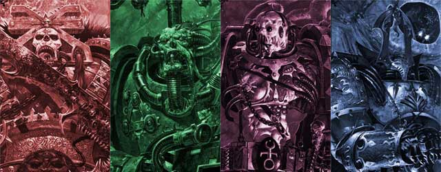 Chaos Gods vs Q Continuum vs Star Wars Celestials vs XelWarhammer 40k Chaos Gods