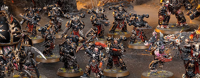Our look at starting 40K in Ninth Edition continues, and this time, we take a look at the various Start Collecting sets for Chaos armies! With two flavors of marines […]